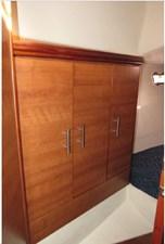 Aft cabin storage