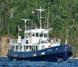 Fintry 2 Fintry 1972 CUSTOM Converted Royal Navy Fleet Tender Trawler Yacht Yacht MLS #269206 2