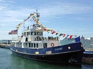 Fintry 1 Fintry 1972 CUSTOM Converted Royal Navy Fleet Tender Trawler Yacht Yacht MLS #269206 1