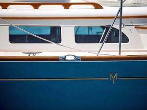 Morris Yachts Detail