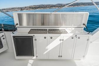 Flybridge Refrigerator/Sink/BBQ