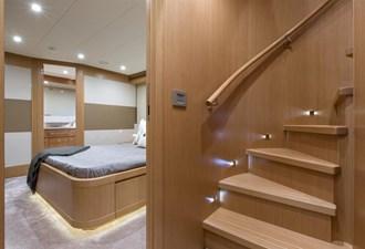 Slainte III 18 Stairway to main deck