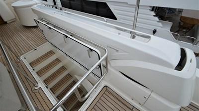 Davit and Stairs to main deck