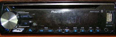 51. Pioneer Stereo Controls