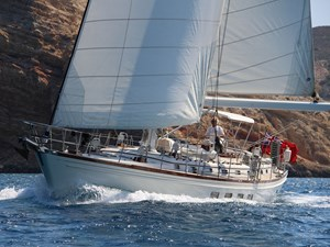 Port Bow Under Sail
