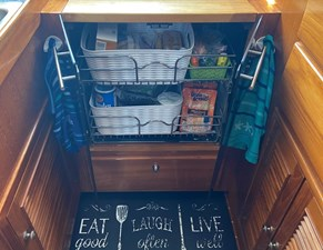 Apres Sail 49 218 Galley Storage Open