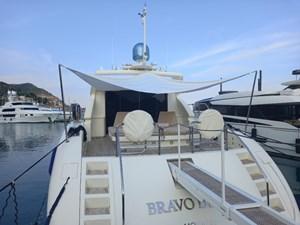 BRAVO DELTA 29 Bimini stern