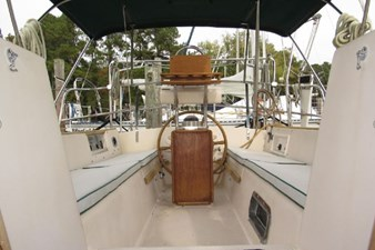 Cockpit from companionway