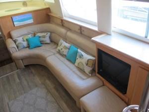 Sea Fox 23 24. Carver 500 Salon Starboard Side