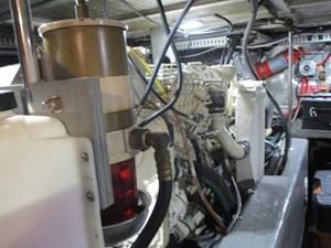Sea Fox 52 55. Carver 500 Starboard Engine