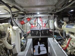 Sea Fox 54 57. Carver 500 Engine Room Aft
