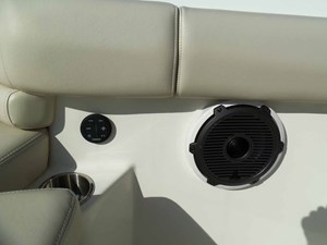 Bow Stereo Remote, Cupholder, Speaker