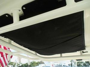Safety Gear Storage Above Helm