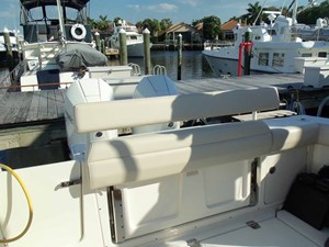 Transom Seat Stowed