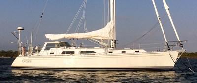 Oceane at anchor