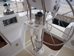 Helm and engine controls