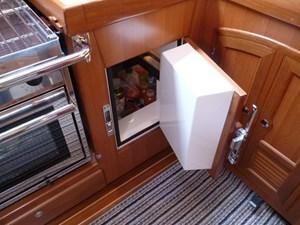 Front opening fridge