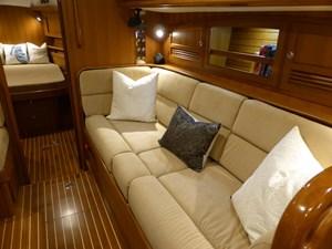 Starboard settee looking forward