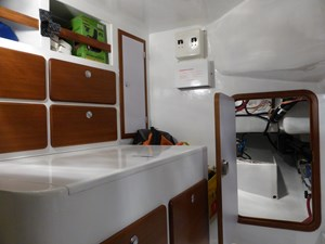Workbench and access to rudder quadrant