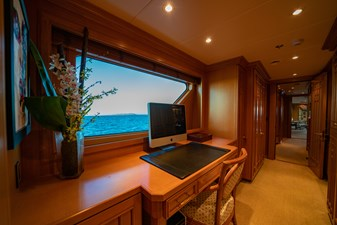 Office in Master Stateroom