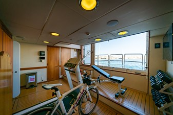 Aft Lazarette/Exercise Room
