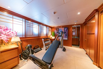 Twin Guest Stateroom - Used as Gym