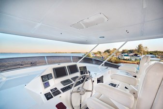 Flybridge with Helm Chairs