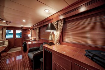 Salon looking Aft Side view
