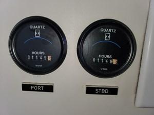 Engine hour meters