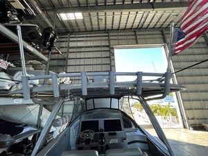 Powder coated Rod holders and Hardtop