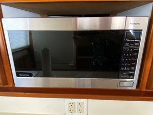 322 Galley Microwave