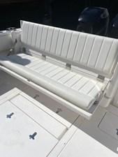 Rear aft Fold Down Bench Seat