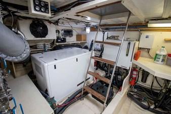 Quiet Storm 37 Starboard Generator
