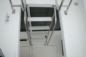 37. Cockpit Stairs to Flybridge