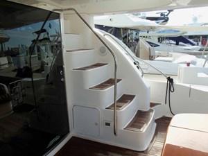 Flybridge Easy Access Steps