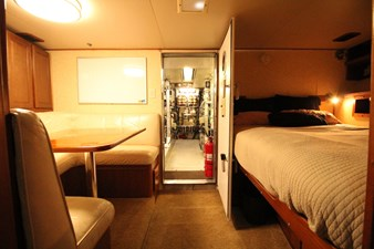1982 Broward 98 Motor Yacht - Crew Cabin