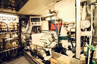 1982 Broward 98 Motor Yacht - Engine Room