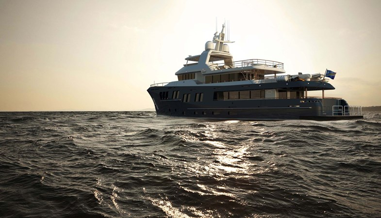 Bering 130  - Steel expedition yacht