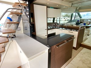 SEADUCTION - Aft Deck and Galley