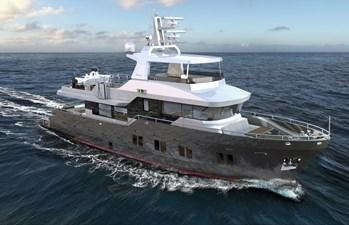 Bering B 72 explorer yacht