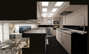 Bering B 72 explorer yacht Interiors