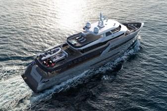 Bering B 145 superyacht exterior shot