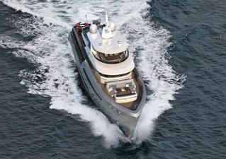 Bering B145 2 Bering B 145 superyacht exterior shot