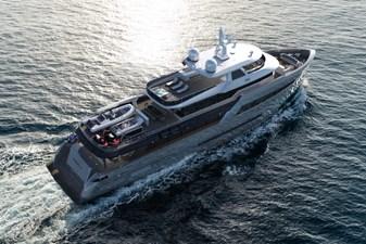 Bering B145 4 Bering B 145 superyacht exterior shot