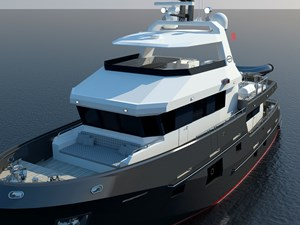 Bering B77 explorer yacht