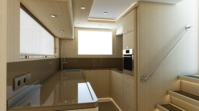 Bering B77 explorer yacht Interiors