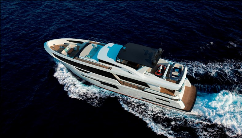 Bering B92 superyacht