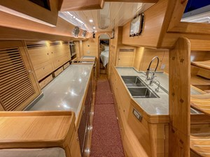 Bluewater 56 32 Galley Aft 2