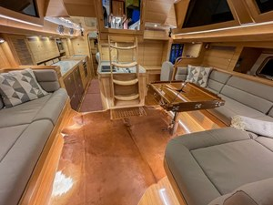 Bluewater 56 23 Saloon looking aft
