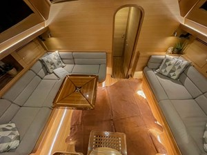 Bluewater 56 20 Saloon from Companionway